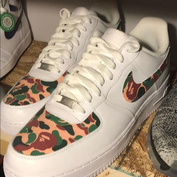 Nike Shoes   Nike X Bape Customs   Poshmark